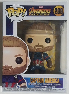 Funko Pop 288 Avengers Infinity War Captain America M4e