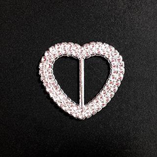 Ack-95461.35 Hebilla De Corazón Metalizada Por 400unid