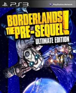 Ps3 Borderlands: The Pre-sequel Ultimate Juego Digital