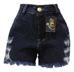 Kit 06 Short Jeans Feminino Atacado Direto Da Fabrica