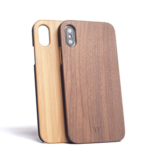 Funda Walden® Madera Real Bamboo iPhone X / Xs / Xr / Xs Max Apple Eco Classic Original