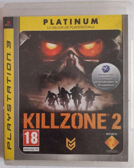 Killzone 2 Platinun Edition Ps3 Mídia Fisica