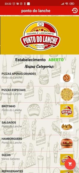 Aplicativo Delivery Para Pizzarias, Hambúrguerias, Acaiteria