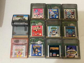 Juegos De Game Boy Y Color Originales (leer Descripción)