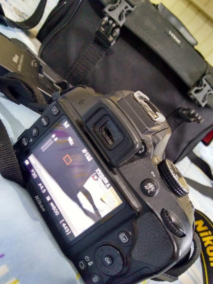 Câmera Nikon D3300 Kit 18-55mm + Brindes