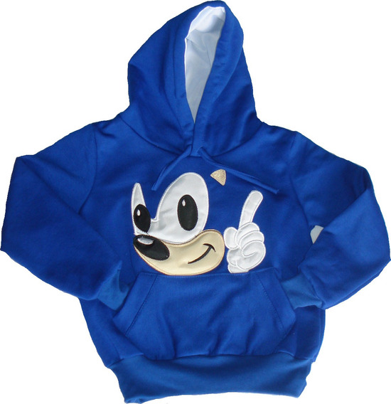Sudadera Niño Sonic