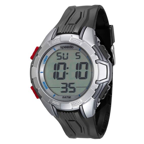 Relógio Masculino Digital Speedo 81110g0evnp1 Preto