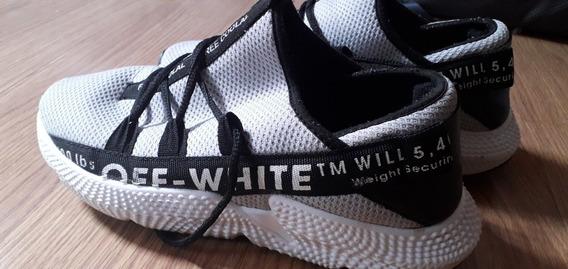 Tênis adidas Off White Num 40