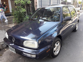 Volkswagen Golf Motor 1.8 Mi Gl 5 Puertas Azul 1997