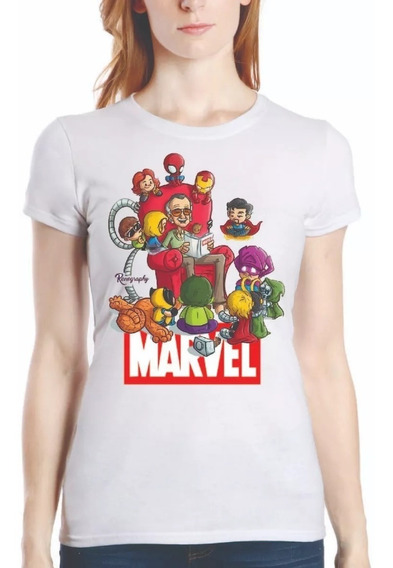 Playera Blusa Avenger Endgame Stan Lee Marvel