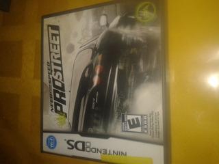 Juego Original De Nintendo Ds Need For Speed Pro Street
