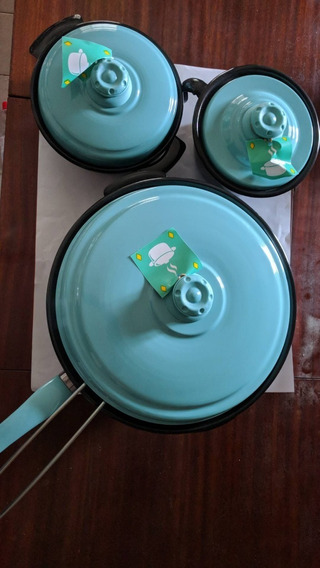 Set De Ollas Juego De Cocina 9 Piezas No Teflon Nuevos