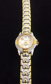 Relógio Feminino Cadina Branco Produto De Mostruário 010