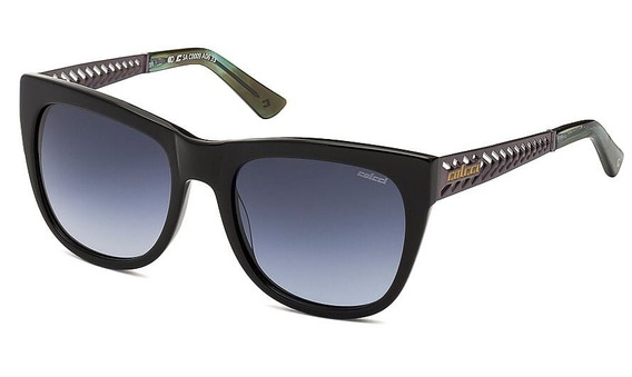 Oculos Solar Colcci C0009a0633 Preto Brilho Lente Cinza