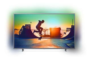 Smart Tv Philips 4k 55 55pug6703/77 Uhd Hdmi3 Usb2 Ambilig