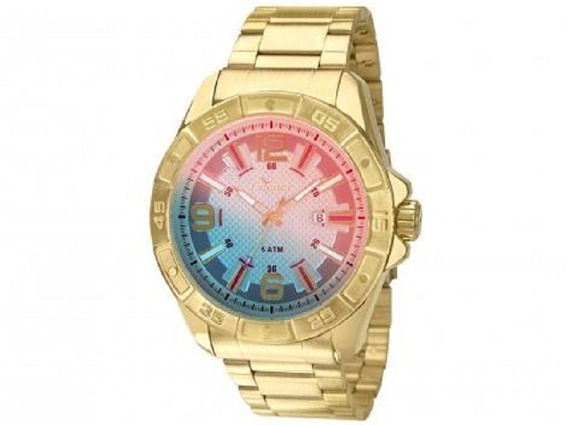 Relógio Condor Co2315aj/4c Pulseira E Caixa Dourado