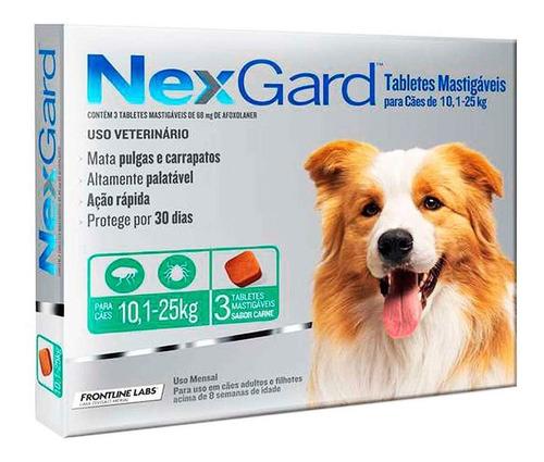 Nexgard Para Perros 10 A 25 Kgs
