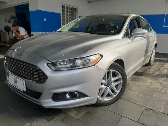 Ford Fusion 2.5 Aut Flex Com Teto 2015 Prata