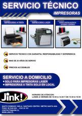 Servicio Técnico Impresoras Tinta - Laser - Ecotank