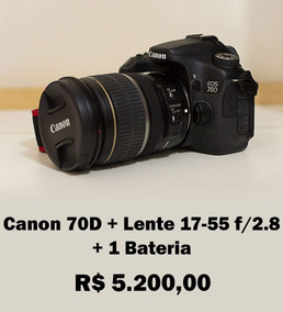 Canon 70d + Lente 17-55 F/2.8