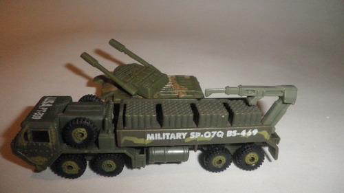 Soldaditos Tanque De Guerra Camión 1:64 Grupo Militar Apoyo