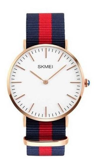 Relógio Masculino Skmei Analógico 1181 Az-vm