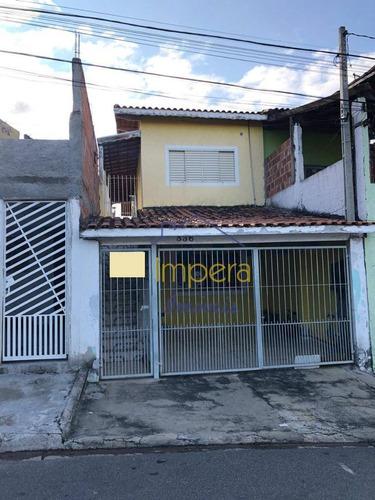 2 Casas - Sobrado Com 4 Dormitórios À Venda, 110 M² Por R$ 200.000 - Jardim Das Cerejeiras - São José Dos Campos/sp - So0016