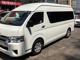 Toyota Hiace 2.7 Bus 15 Pas Mt Certificado