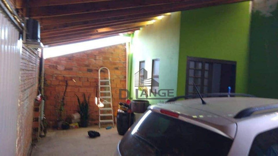 Casa Com 2 Dormitórios À Venda, 58 M² Por R$ 230.000,00 - Loteamento Della Rocha - Itapira/sp - Ca13372