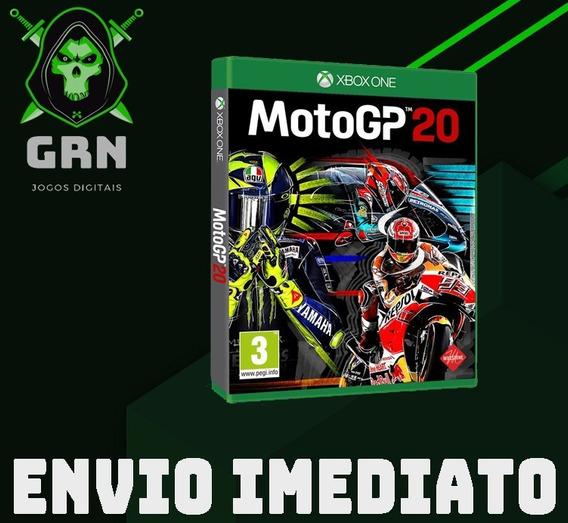 Moto Gp 2020 - Xbox One - Mídia Digital