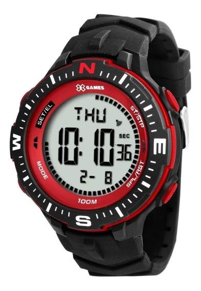 Relógio X Games Digital Masculino Xmppd346 Original + Nf
