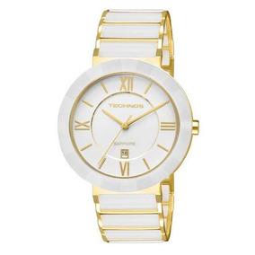 Relógio Technos Feminino Sapphire Original Nota 2015bv/4b