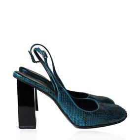 Sapato Dolce & Gabbana Python Azul Dolce & Gabbana