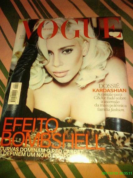 *jl Revista Vogue Brasil Kim Kardashian Junho *