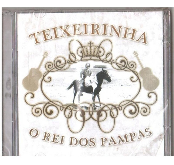Teixeirinha O Rei Dos Pampas - 2 Cd