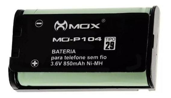 Bateria Para Telefone Sem Fio Mox Mo-p104 Tipo 29