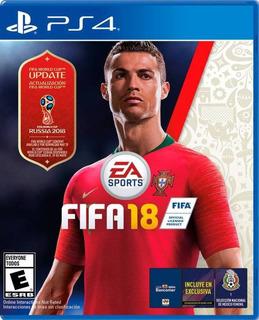 Fifa 18 Copa Mundial Play Station 4 Ibushak Gaming