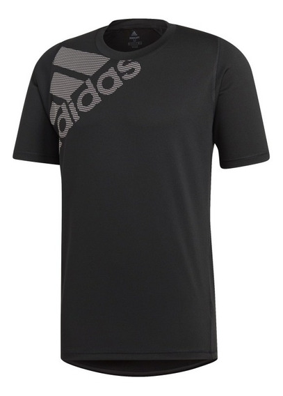 Playera adidas Freelift Badge Of Sport Graphic Du0902 Negro