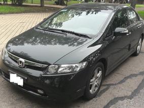 Honda Civic 1.8 Automática 2008 Con Solo 60000 Kms!