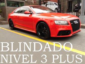 Audi Rs5 2011 Blindado Nivel 3 Plus Blindada Blindaje
