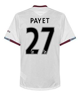 Jersey Original Umbro West Ham Visita Payet-27 2016-2017 Med