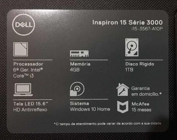 Notebook Dell Semi Novo