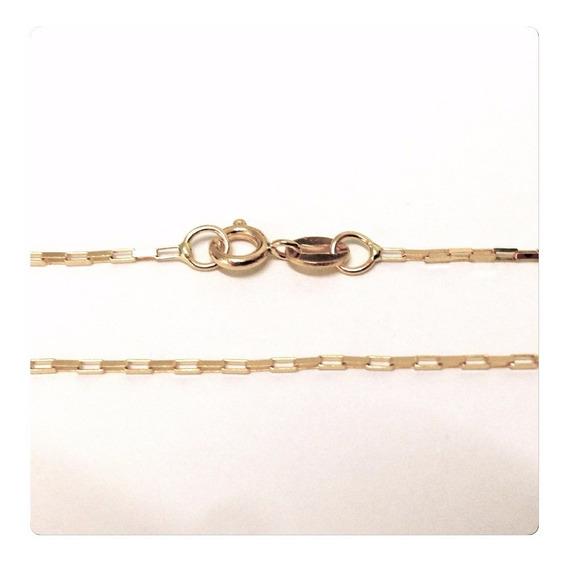 Cordão Corrente Cadeado Cartier Masculino De Ouro 18k-750