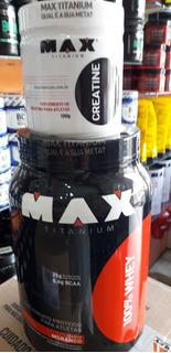 100% Whey Protein 900 Gr + Creatina 100 G Max Titanium