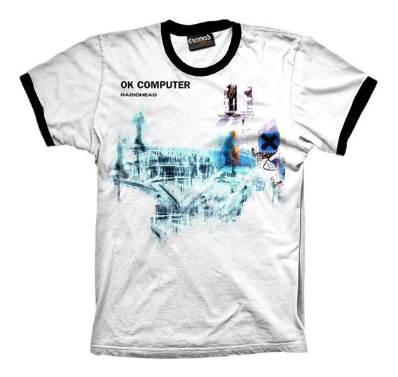 Remera Radiohead Ok Computer Retro