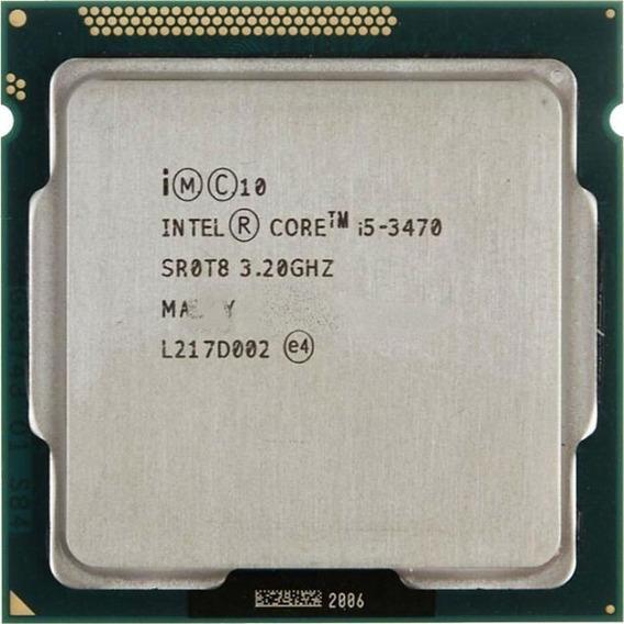 Processador Core I5 3470 Lga 1155 3.20ghz 6m Semi-novo