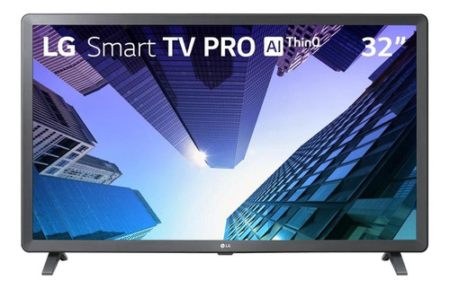 "Smart TV LG AI ThinQ 32LM621CBSB LED HD 32"" 100V/240V"