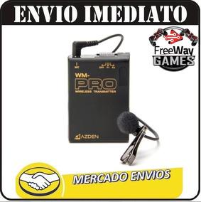 Microfone De Lapela Azden Wdl-pro Camera Dslr Sem Fio + Nfe