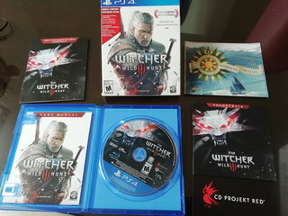 Ps4 The Witcher 3 Wild Hunt Spetial Edition