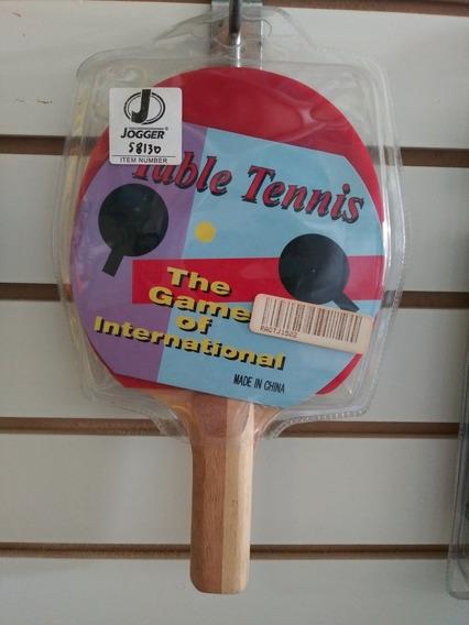 Raqueta De Ping Pong Jogger De Luxe